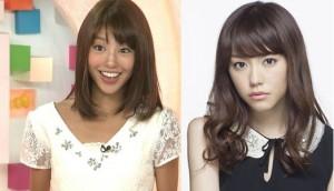 岡副麻希と桐谷美玲似ている